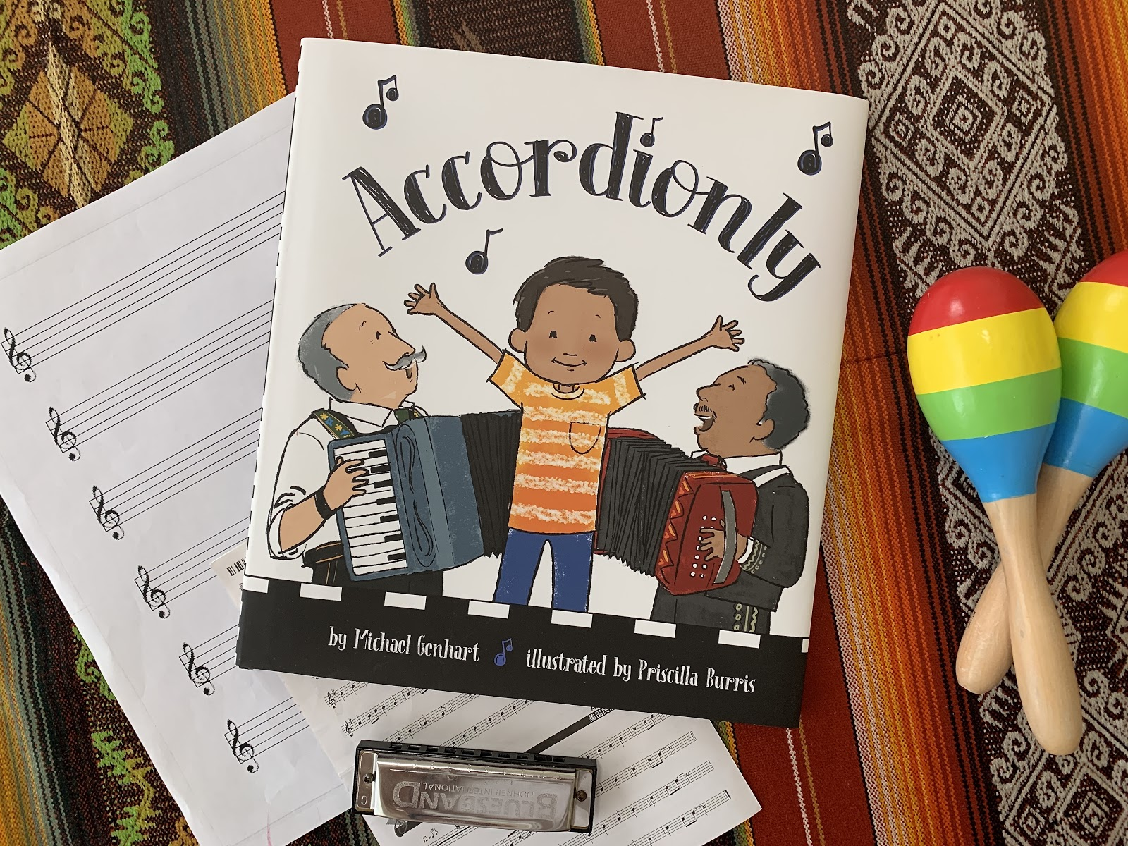 BOOK REVIEW: 'Accordionly' by Michael Genhart & Priscilla Burris
